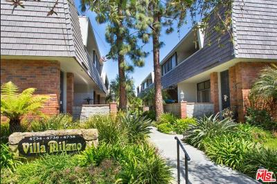 Marina Del Rey Condo/Townhouse For Sale: 4734 La Villa Marina #C