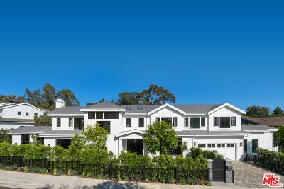 Pacific Palisades Single Family Home For Sale: 1058 Maroney Lane