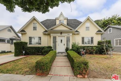 Los Angeles County Single Family Home For Sale: 929 3rd Avenue