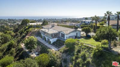 Pacific Palisades Single Family Home For Sale: 16116 Anoka Drive