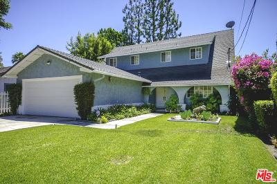 Valley Village Single Family Home For Sale: 12714 Otsego Street
