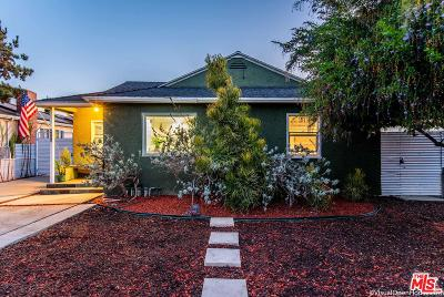 Culver City Single Family Home For Sale: 4925 Berryman Avenue