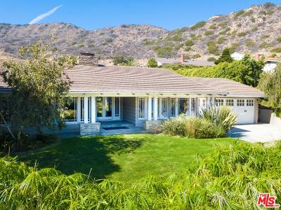 Malibu Single Family Home For Sale: 20239 Inland Lane