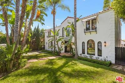 Single Family Home For Sale: 1151 North Doheny Drive