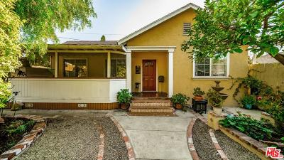 Culver City Single Family Home For Sale: 5021 Berryman Avenue