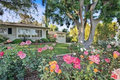 Toluca Lake Single Family Home For Sale: 10225 Valley Spring Lane