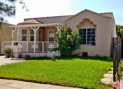 Los Angeles CA Single Family Home For Sale: $349,900