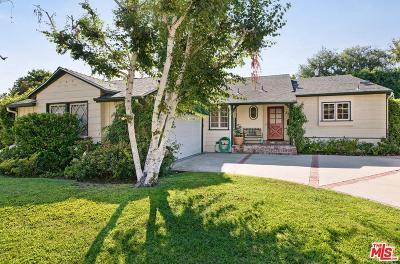 Studio City Single Family Home For Sale: 4461 Babcock Avenue