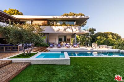 Pacific Palisades Single Family Home For Sale: 748 Amalfi Drive