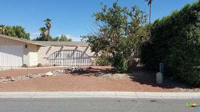 Palm Desert Single Family Home For Sale: 43180 Virginia Avenue