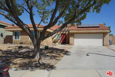 Palmdale Single Family Home For Sale: 38206 West 5th Place