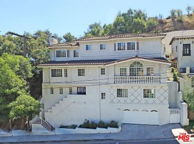 Los Angeles Single Family Home For Sale: 2727 Belden Drive