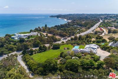 Malibu Single Family Home For Sale: 27715 Pacific Coast Highway