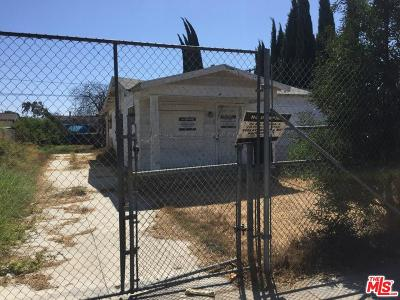 Los Angeles CA Single Family Home For Sale: $259,900