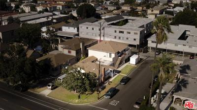 Los Angeles County Residential Income For Sale: 3872 Bentley Avenue