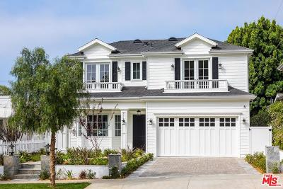 Pacific Palisades Single Family Home For Sale: 847 Chautauqua