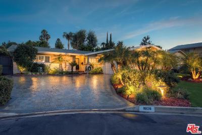 Encino Single Family Home For Sale: 16126 Hartsook Street