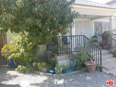 Los Angeles Single Family Home For Sale: 5731 2nd Avenue