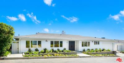 Pacific Palisades Single Family Home For Sale: 1216 Las Pulgas Road