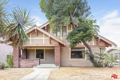 Single Family Home For Sale: 1943 Carmen Avenue