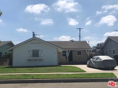 Long Beach Single Family Home For Sale: 190 West Adams Street