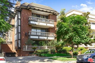 Beverly Hills Condo/Townhouse For Sale: 403 North Palm Drive #2