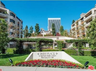 Los Angeles County Condo/Townhouse For Sale: 2112 Century Park Lane #405