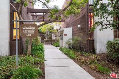Santa Monica Condo/Townhouse For Sale: 1314 17th Street #7