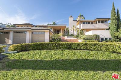 Pacific Palisades Single Family Home For Sale: 1655 Amalfi Drive