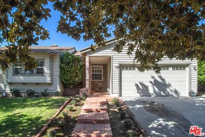 Valley Village Single Family Home For Sale: 12837 Martha Street