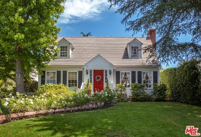 Los Angeles Single Family Home For Sale: 242 South Carmelina Avenue
