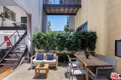 West Hollywood Condo/Townhouse For Sale: 1011 North Orange Grove Avenue #2