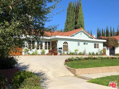 Single Family Home For Sale: 823 South Sierra Bonita Avenue