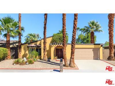 Palm Springs Single Family Home For Sale: 920 South Nueva Vista Drive