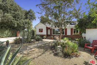 Studio City Single Family Home For Sale: 4316 Klump Avenue