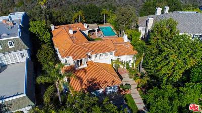 Pacific Palisades Single Family Home For Sale: 1445 Via Cresta