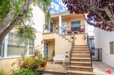 Santa Monica Condo/Townhouse For Sale: 817 6th Street #G