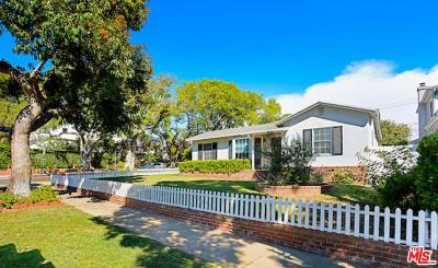 Pacific Palisades Single Family Home For Sale: 744 Almar Avenue