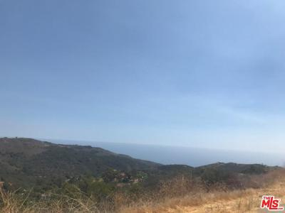 Malibu Residential Lots & Land For Sale: Foose Road