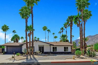 Palm Springs Single Family Home For Sale: 1291 East Delgado Road