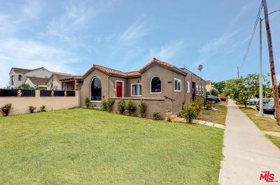 Mid Los Angeles (C16) Single Family Home For Sale: 3003 South Norton Avenue