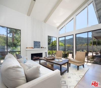 Pacific Palisades Single Family Home For Sale: 17045 Avenida De Santa Ynez