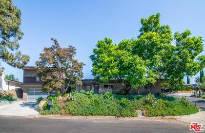 Studio City Single Family Home For Sale: 11601 Dona Alicia Place