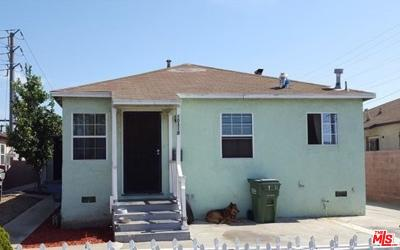 Inglewood Residential Income For Sale: 10318 South Freeman Avenue