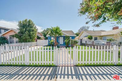 Inglewood Single Family Home For Sale: 3906 West 64th Street