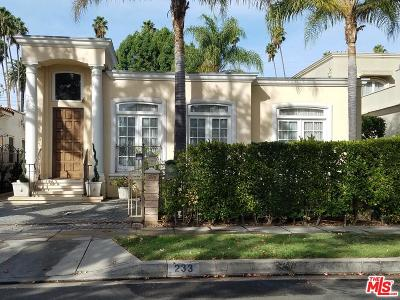 Beverly Hills Rental For Rent: 233 North Wetherly Drive
