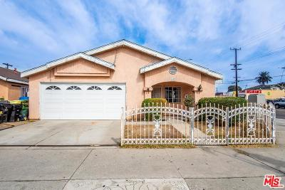 Los Angeles Single Family Home For Sale: 1401 West 60th Street #2