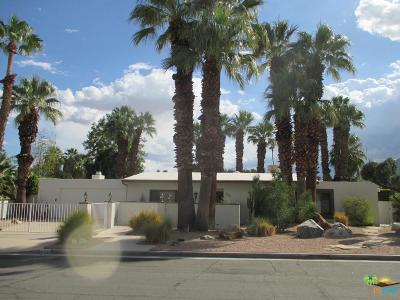 Palm Springs Single Family Home For Sale: 663 East Chia Road