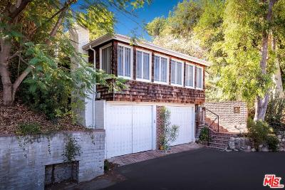 Studio City Single Family Home For Sale: 11588 Laurelcrest Drive
