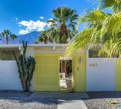 Palm Springs Single Family Home For Sale: 665 South Canon Drive